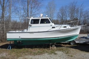 1993 General Marine 26 Cruiser Sedan: SOLD!!!