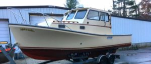 2001 General Marine 26 Cruiser Sedan: SOLD!
