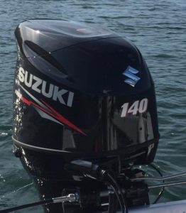 2015 Suzuki DF140A Outboard – Very Low Hours! $8,200